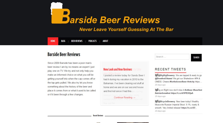 Barside Beer Reviews